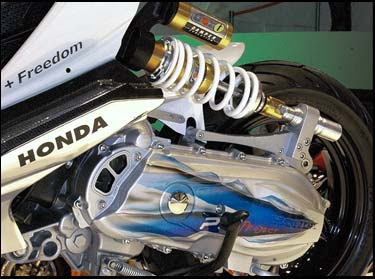 Modifikasi honda Icon