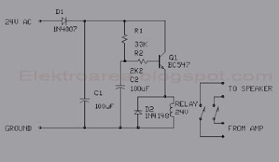 delay speaker sederhana