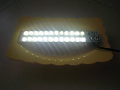 rangkaian LED 220VAC
