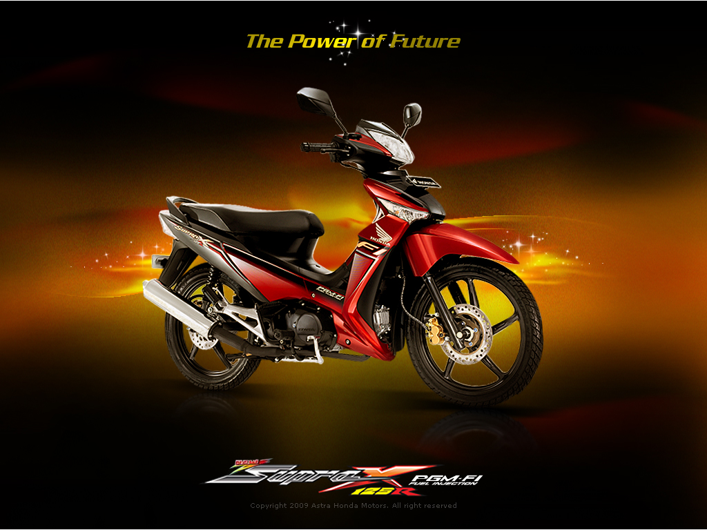 Honda New Supra X 125R PGM   FI  Fuel Injection  2010  Modifikasi