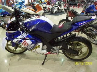 Yamaha V-Ixion - YZF R125 Modified