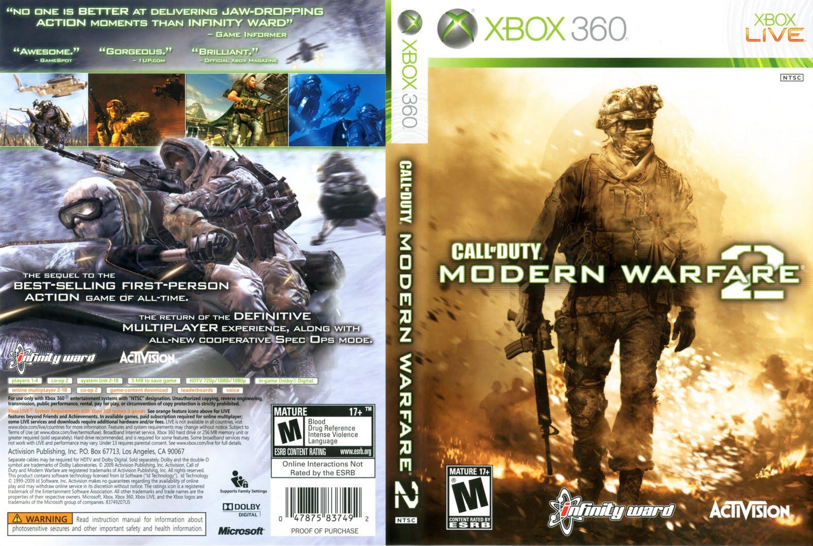 Latest Call Duty Modern Warfare 2 Patch Xbox 360