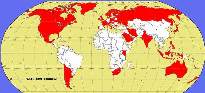 Mapa del Mundo Homeschooler