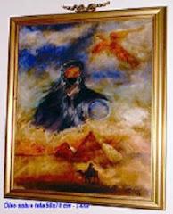 Deserto - Óleo sobre tela 50x70 cm