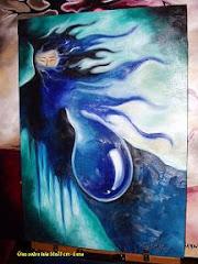 Nascer - Óleo sobre tela 50x70 cm