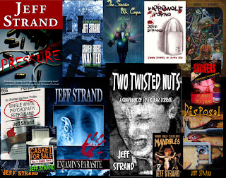 Interview with :   Jeff Strand, Author of Happy Horrordays