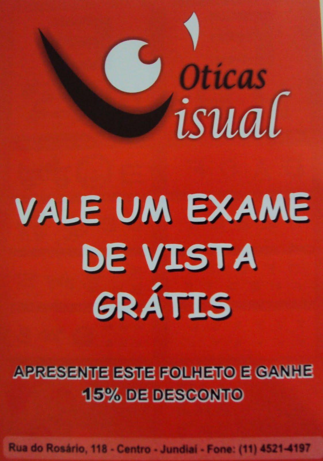 094f9ecc6f895 Oticas com exame de vista gratis - Teste visual ilegal e venda ...