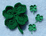 Irish For A Day Lucky Clover Pin by Sarah Trageser