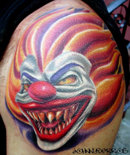 Free evil clowns tattoos downloads, download evil clowns tattoos from