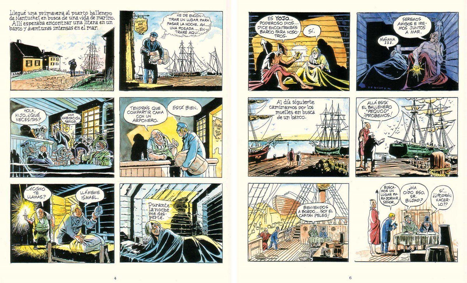 Texto de la biblioteca Moby Dick
