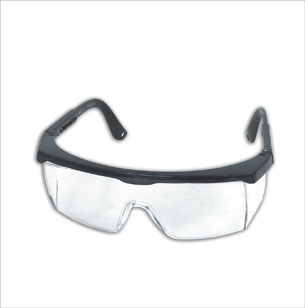 Figure: Safety goggles, Miss Outlier, it's not hard - just wear them ...