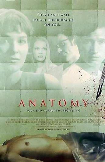 The Horror Effect: Anatomy (2000): Never trust a German doctor