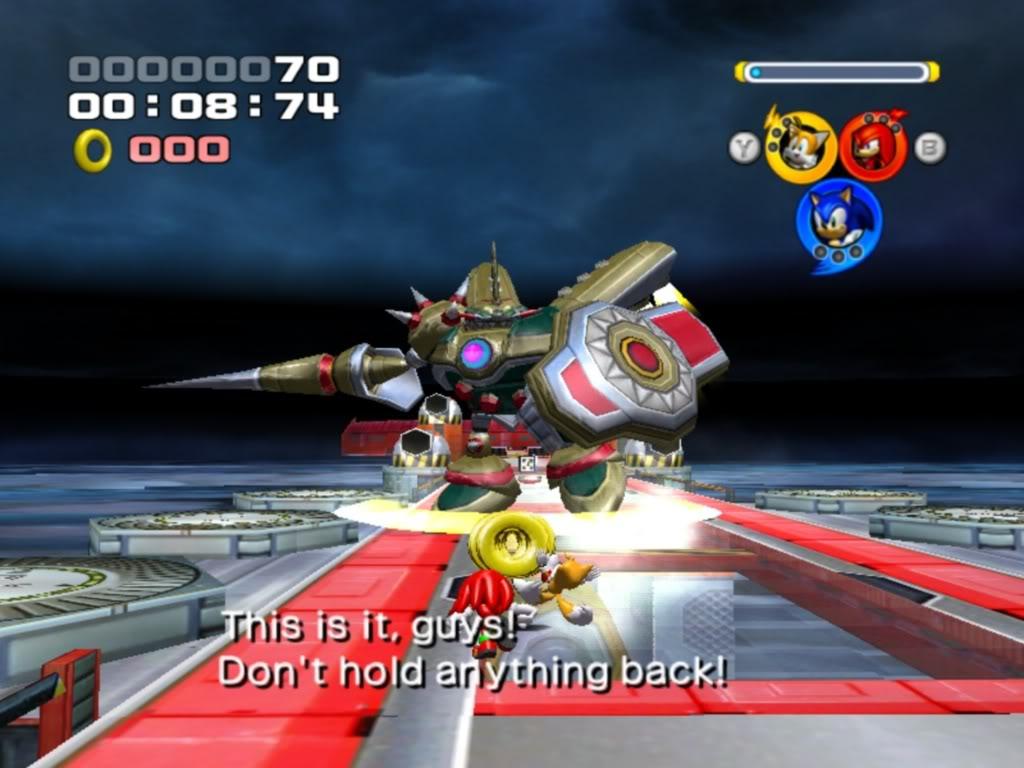 Sonic Heroes, présentation Team+Sonic+VS+Egg+Emperor