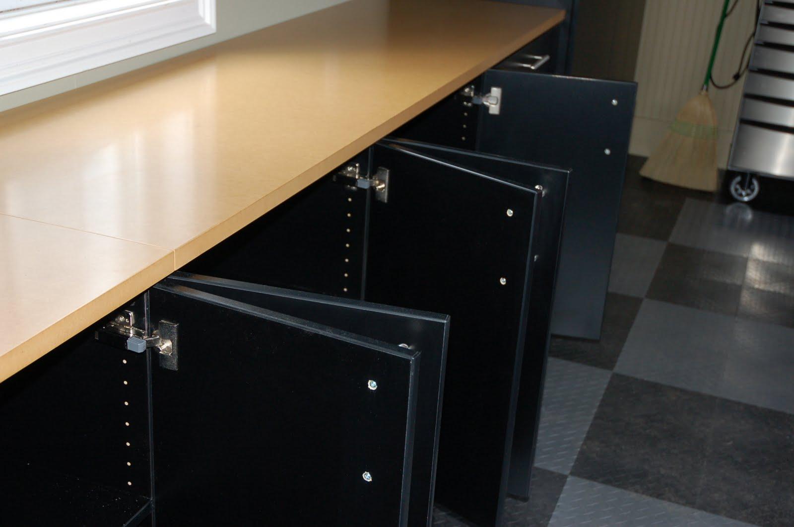 Carbon Fiber Garage Cabinets