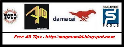 MAGNUM 4D | DA MA CAI | SPORTS TOTO | SINGAPORE POOLS: March 2009