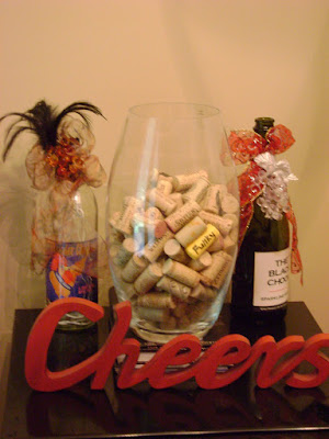 Having a wine themed bridal shower or wedding reception