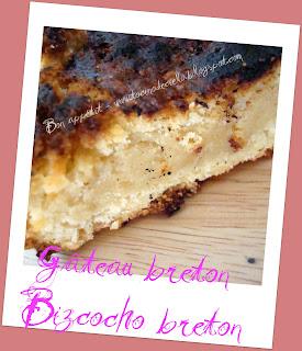 Calories gateau breton