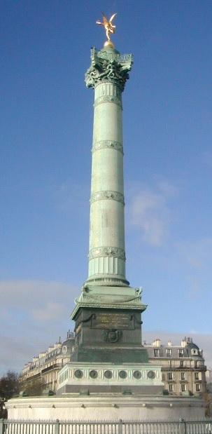 Plaza de La Bastilla y los derechos humanos
