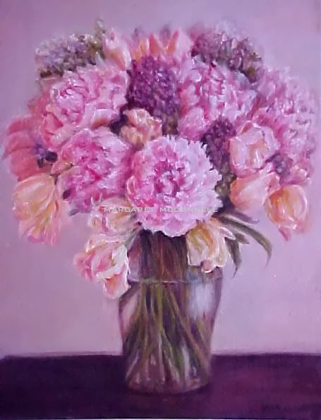 Peonies (Prints available) unframed