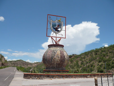 Entrada a Bacerac Sonora