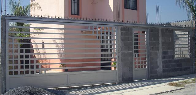 Regio protectores portones y barandales modelo rppb 001 for Modelos de portones de hierro