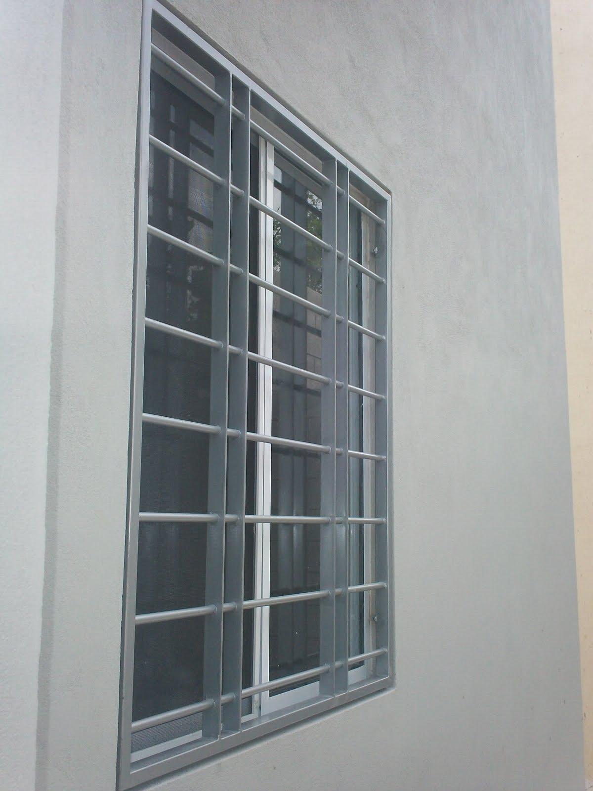 RP-037, Protectores para ventana, estilo contemporáneo, instalados en ...