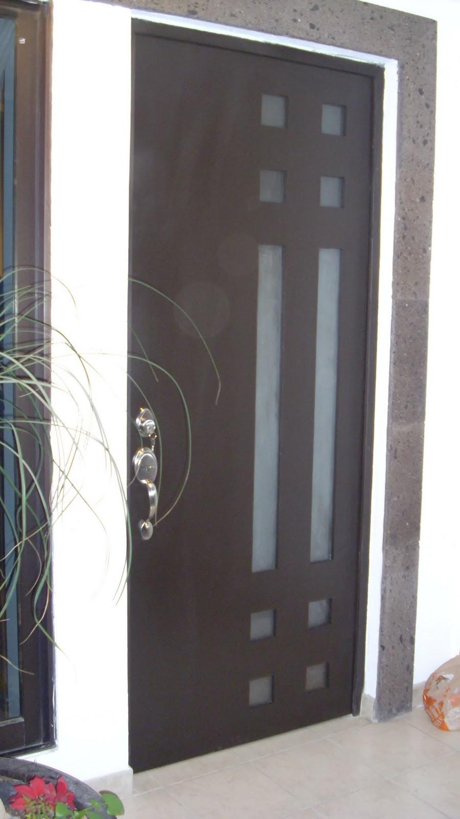 Regio protectores puerta de hierro estilo contempor neo - Puertas de metal para casas ...