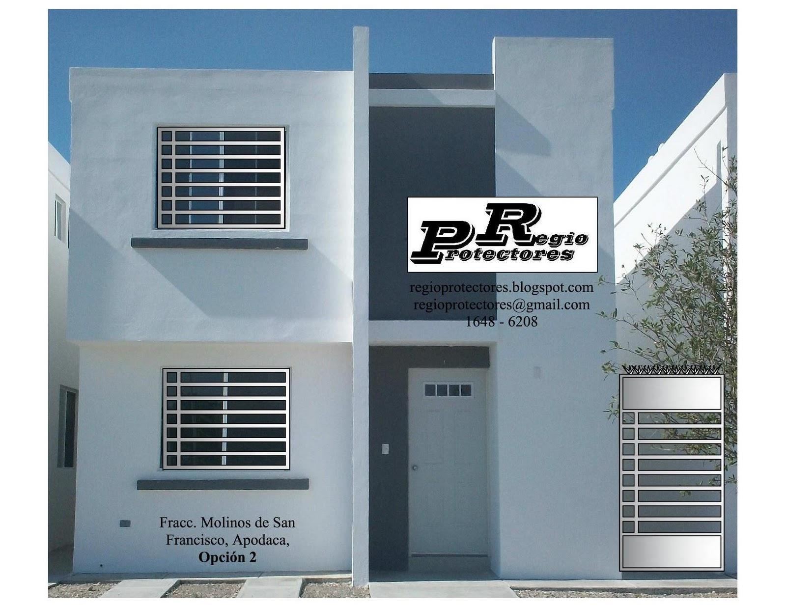 foto montaje de protectores para ventanas y puertas fracc molinos de