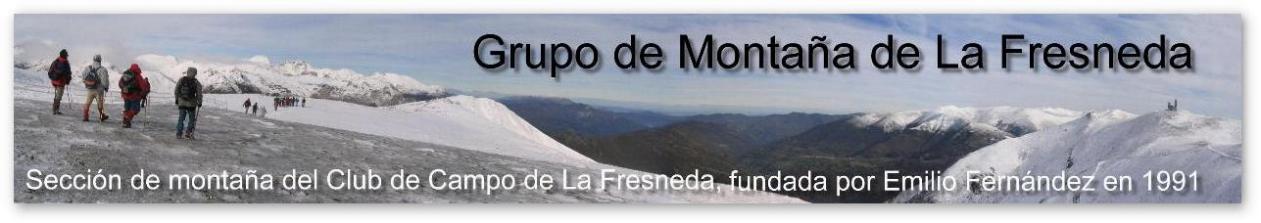 Grupo de Montaña del Club de Campo de la Fresneda