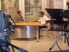 fotos em entrevista ao vivo