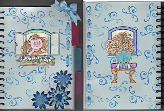 Altered Notebook - Front and Back