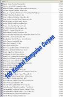 Download 100 Koleksi Kumpulan Cerpen dalam 1 File