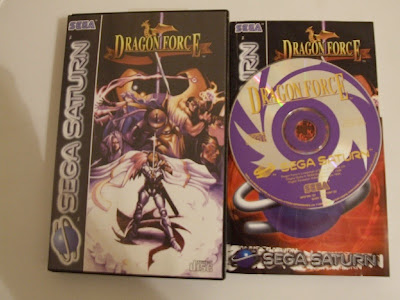 Sega Saturn Dragon Force Box