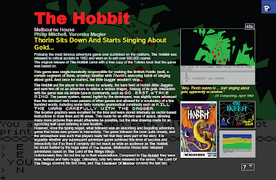 ZX Spectrum Book The Hobbit