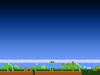 super mario desktop