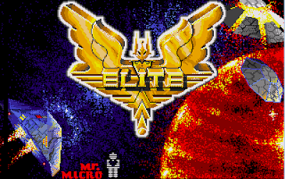 elite amiga loading screen