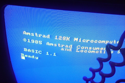 Amstrad CPC 6128 colour monitor