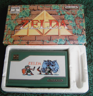 Game & Watch Zelda boxed