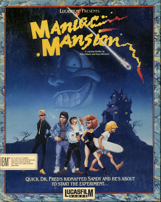 Maniac Mansion Cover