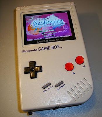 Game Boy GBA mod