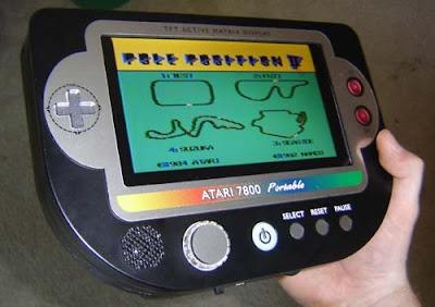handheld Atari 7800 portable