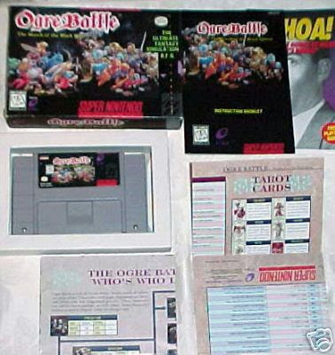 Ogre Battle SNES