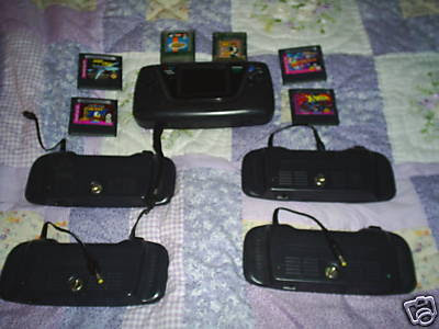 Sega Game Gear games power pack