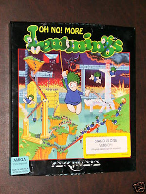 Oh no More Lemmings Amiga