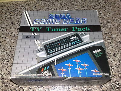 Game Gear TV Tuner Pack Sega
