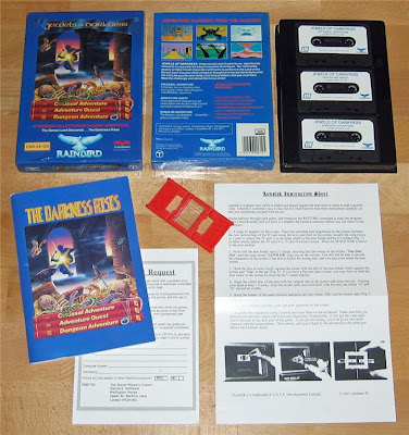 Level 9 Jewels of Darkness C64 box