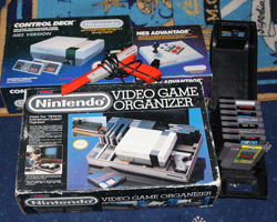 nes video game organizer