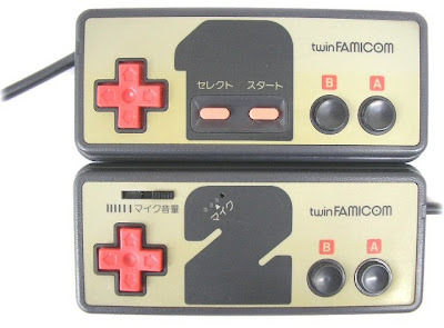 Sharp twin Famicom controller