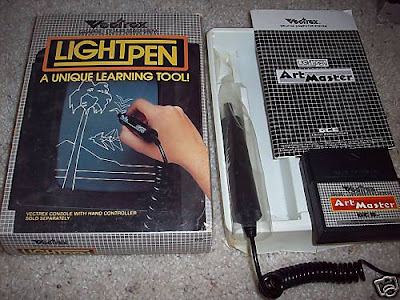 The Vectrex Lightpen Art Master