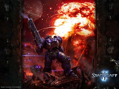 starcraft marines free wallpaper